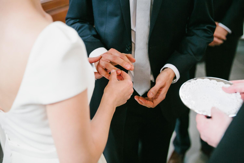 Brautpaar Ringwechsel