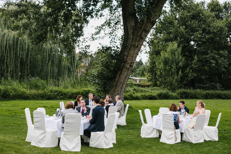 Garten Hochzeitsfeier