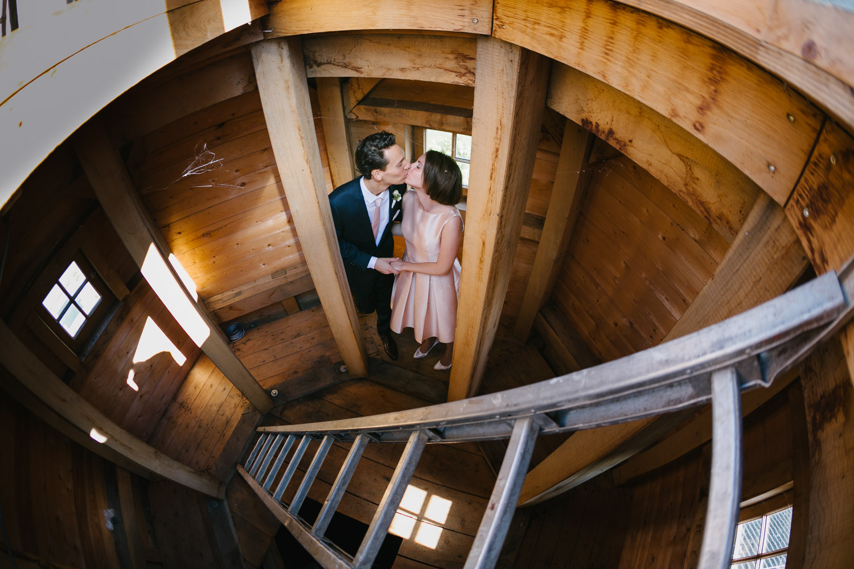 Brautpaarshooting Turm