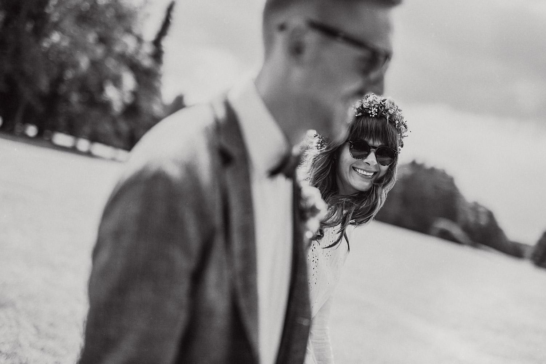 Brautpaarshooting Sonnenbrille