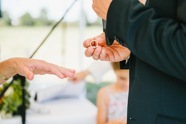 Hochzeit Ringwechsel