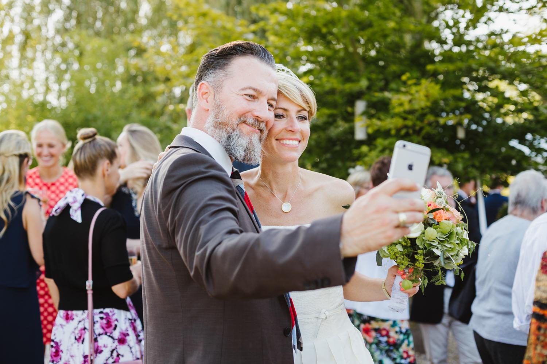 Hochzeit Selfie