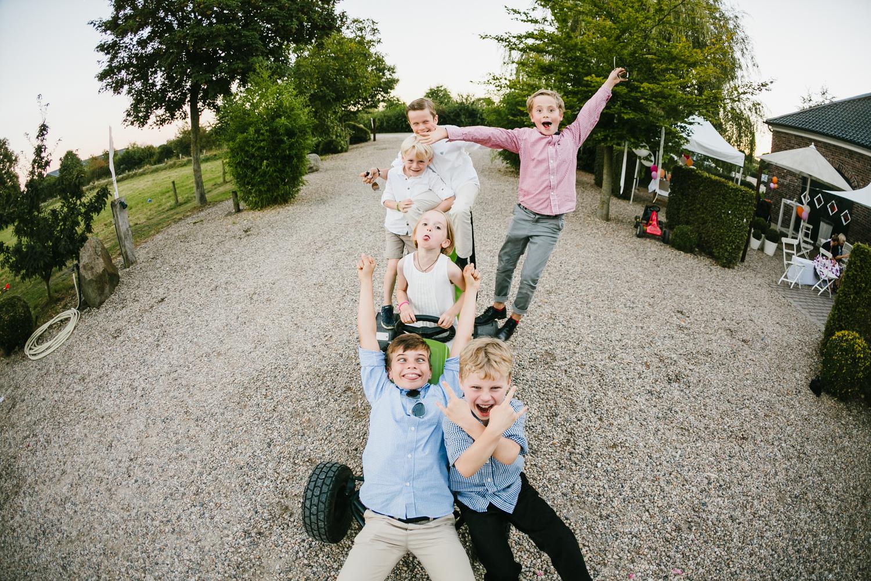Kinder Gruppenfoto
