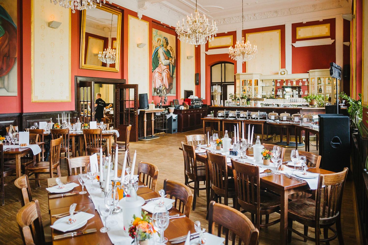 Hochzeitssaal im LUKAS