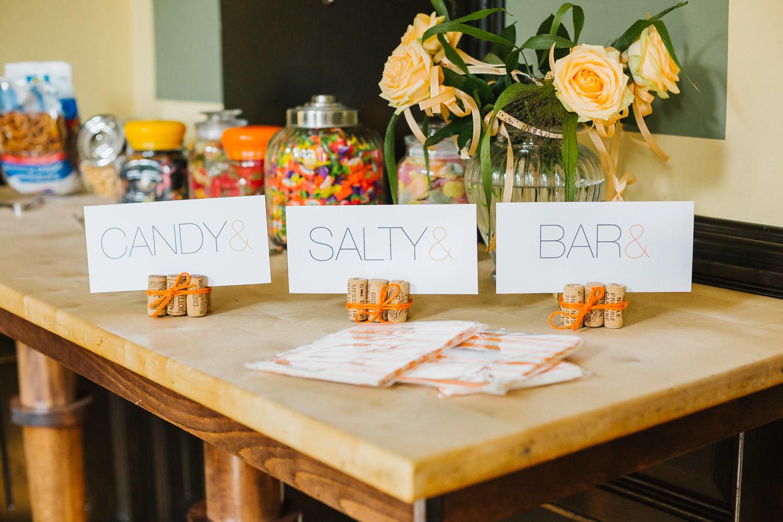 Candybar auf der Hochzeit