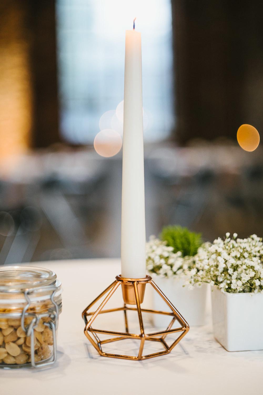 Dekoration der Hochzeitslocation