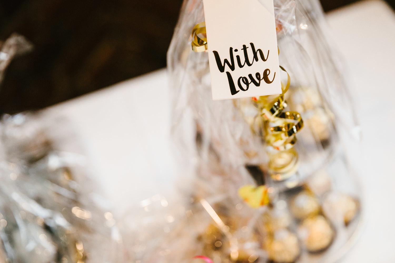 With Love Hochzeitsdekoration