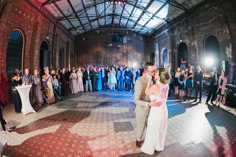 Hochzeitstanz im Maschinenhaus Essen