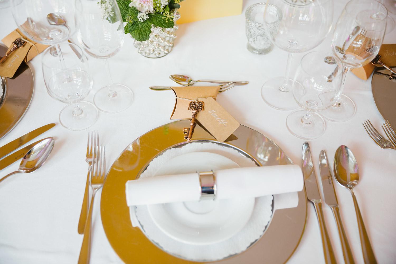 Tischdekoration Hotel MutterHaus