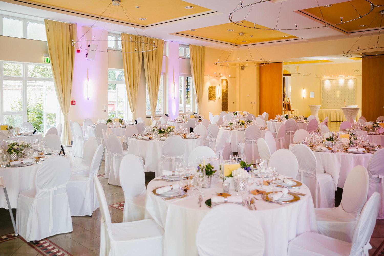 Hochzeitssaal im Hotel MutterHaus