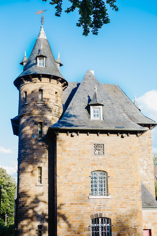 Gebäude vom Schloss Schellenberg