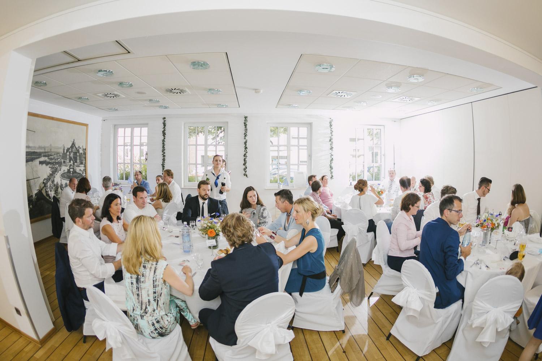Nebenraum der Hochzeitslocation