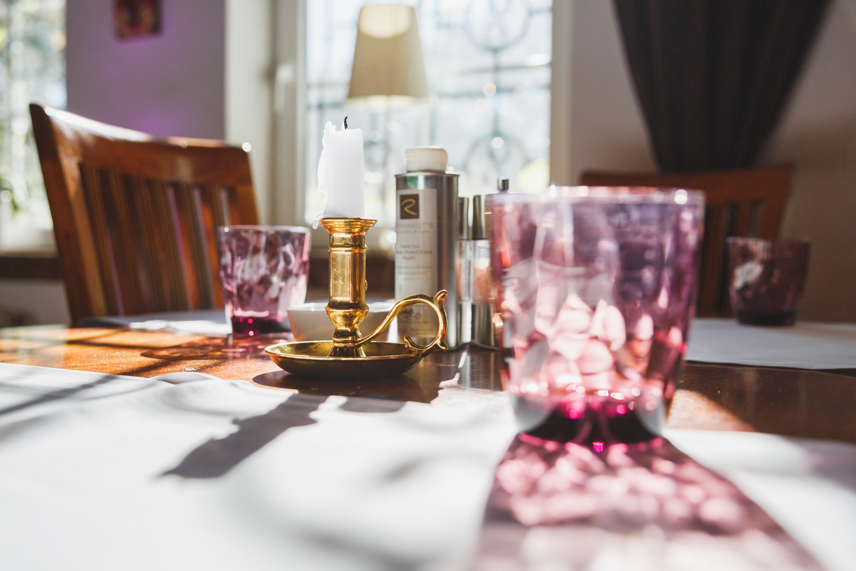 Tisch Kerze